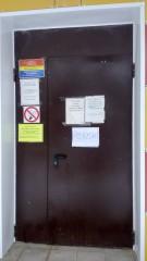 Объявления на входе в поликлинику, г. Московский, 1 мкр., д. 54 =)