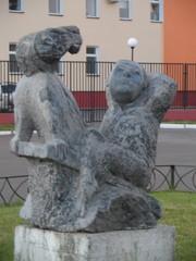 Скульптура в центре спорта Московский