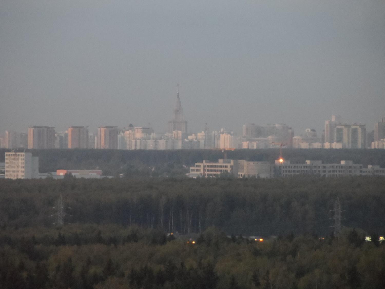 ул. Никитина 10, 5 мкр., г. Московский, фото с крыши дома