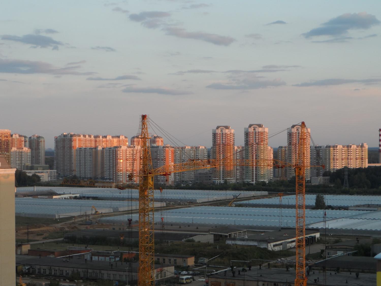 Вид на 4 мкр., из 5 мкр., г. Московский