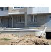 Уровень дома до поднятие грунта, для маскировки строительного мусора и удешевления проекта. 5-й мкр.