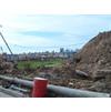 Строительный мусор, который спрячут под слоем  земляного грунта из катлаванов. 5-й мкр., г. Московский