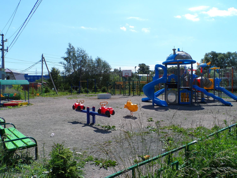Спортивно-игровой кластер поселения )