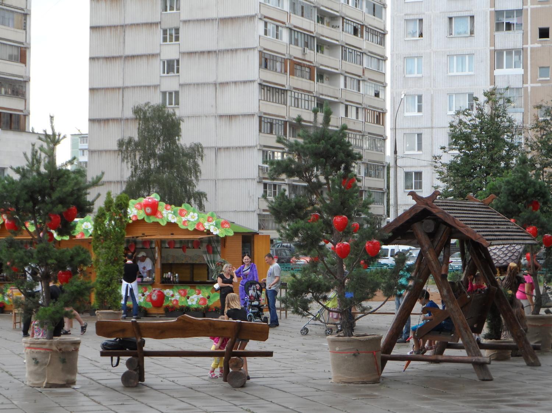 """Фестиваль """"Московское варенье"""" в 1 мкр., города Московский (фото)"""