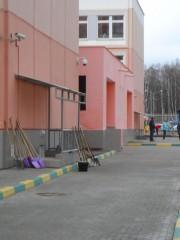 25.04.2015 г., субботник в г. Московский, 4 мкр.