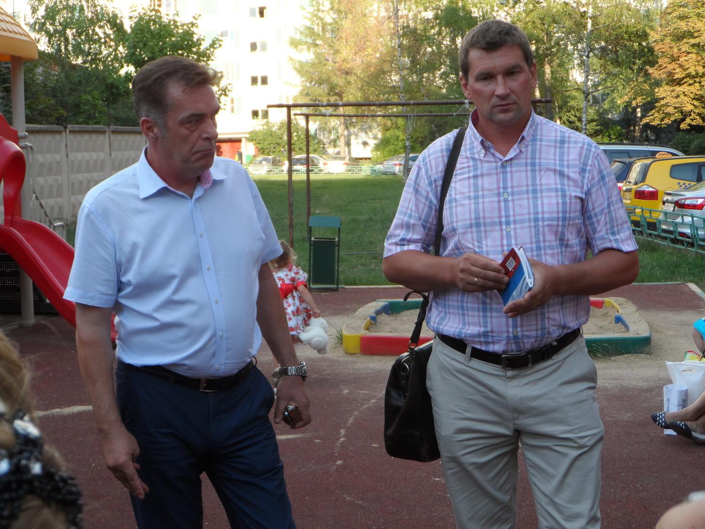 Депутаты поселения Московский Арбатов и Лебедев