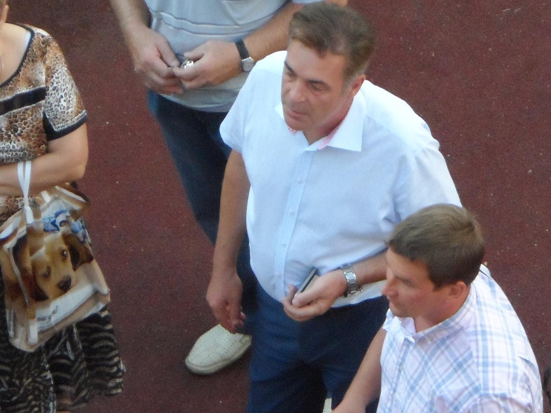 Лебедев и Арбатов, встреча с избирателями