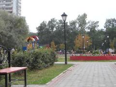 центральная площадь-аллея
