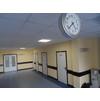 Холл новой поликлиники в 3 мкр.
