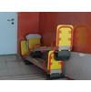 детские качели новой поликлиники в 3 мкр.