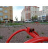Опоры качель детской площадки новой поликлиники в 3 мкр.