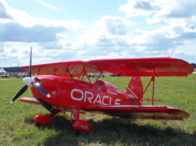 Настоящий самолёт, но не летал (