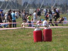 Газовые баллоны от воздушного шара