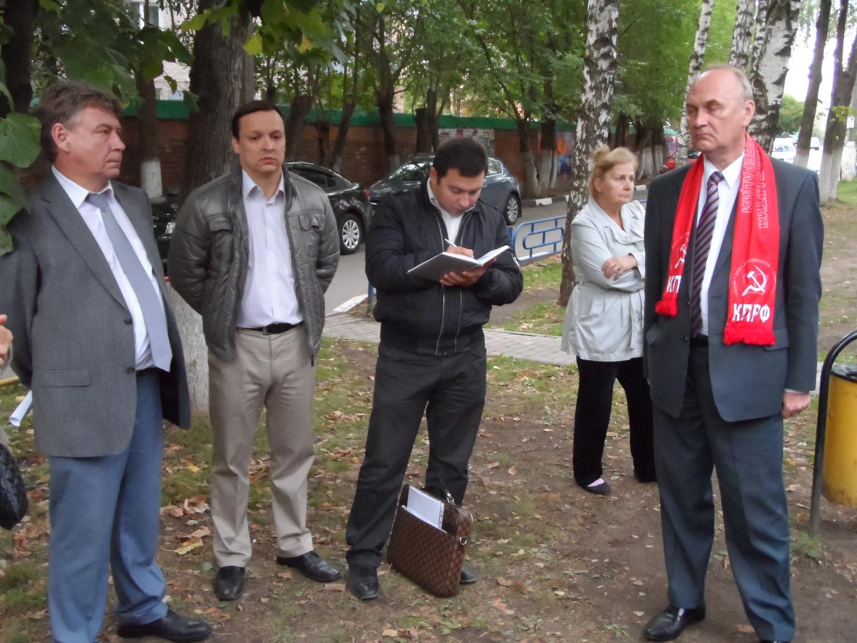 Грановский С. А., Сагенбаев И. А., Калашников П. О., и деп. ГД РФ от КПРФ
