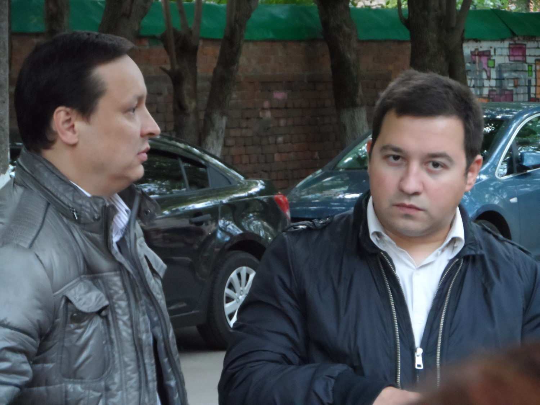 Сагенбаев Игорь Александрович и Калашников Павел Олегович