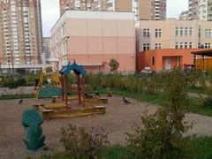Лиса а детском саду
