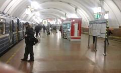 Станция метро (ну очень чисто)