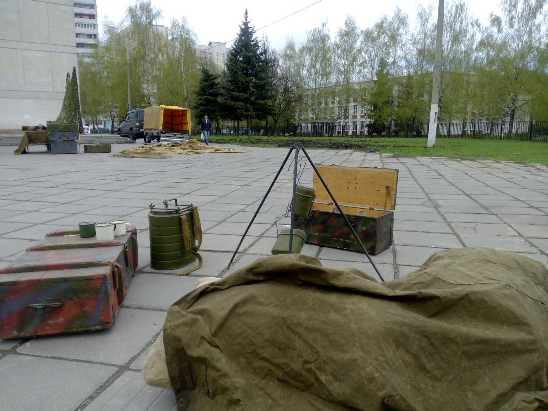 """9-е мая 2015 года, площадь перед ДК """"Московский"""" (70 лет победе)"""