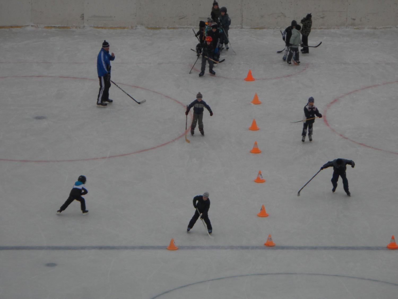 """Тренировка юных хоккеистов, """"Центр спорта""""Московский"""""""""""