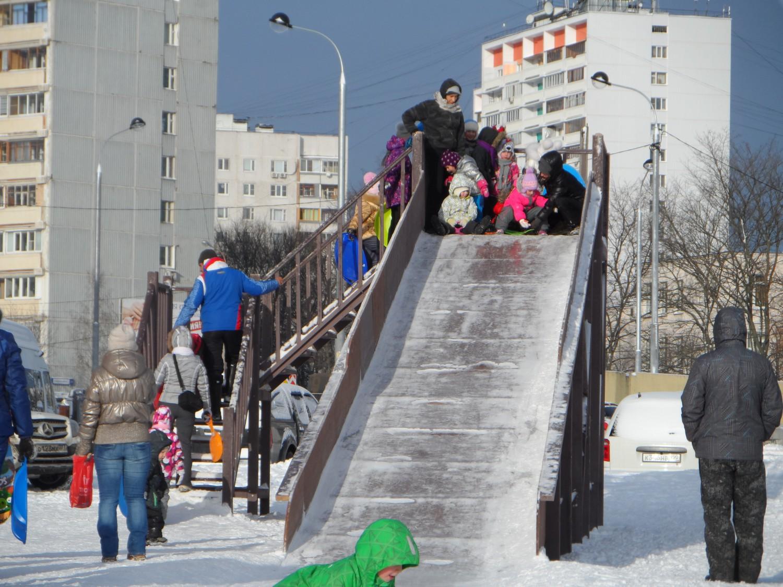 """""""Центр Спорта Московский"""", (стадион) горка"""
