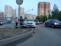 Авария на пересечении ул. Никитина с Валуевским шоссе