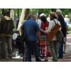 Отцы движения хиппи в Москве (Царицыно 1.06.2014)