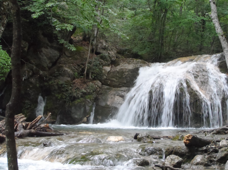 Урочище Хапхал,начало водопада Джур-Джур