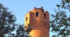Снос башни