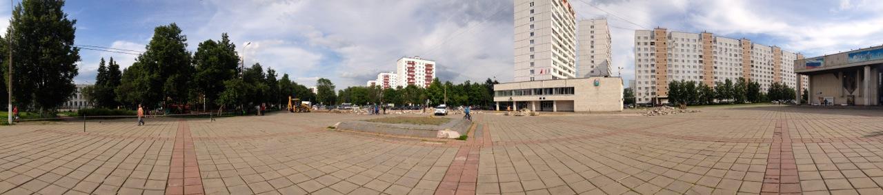 Старая площадь у ДК