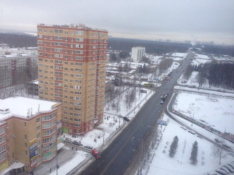 Въезжаем в Московский