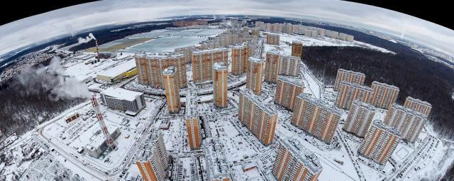 Московский с высоты