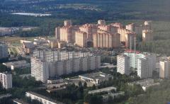 Московский вид с высоты