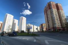 Въезд в микрорайон 5 - Первый Московский Город Парк