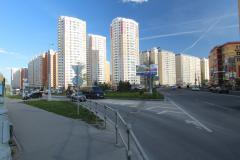 Микрорайон 5 - Первый Московский Город Парк, дорога