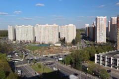 Первый Московский Город Парк весной 2017