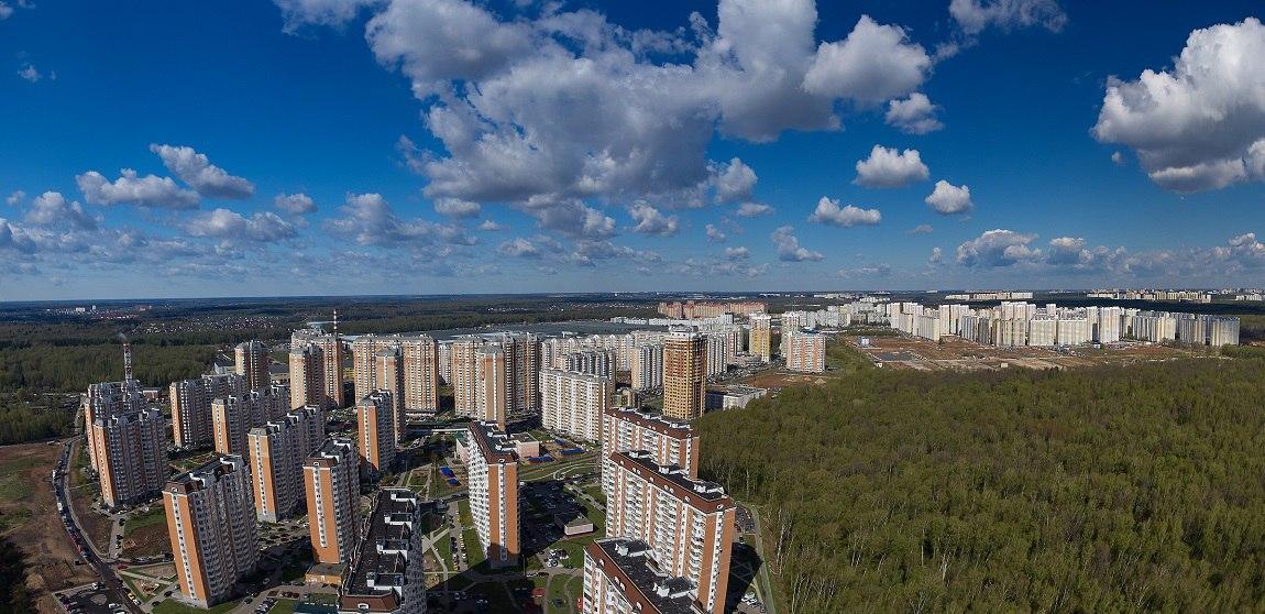 Город Московский.Микрорайон Град Московский (фото: Зеленин Алексей)