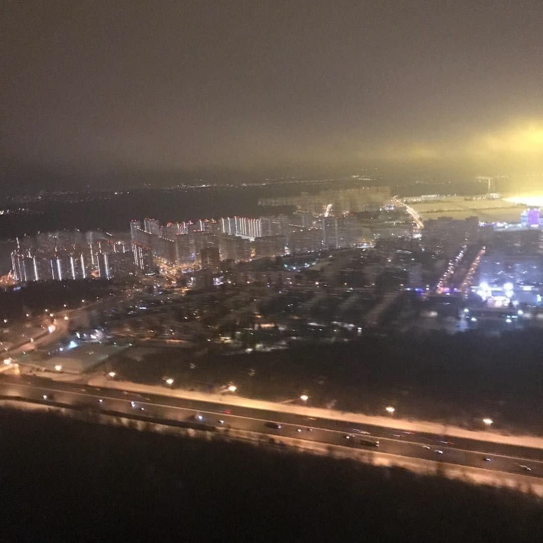 Пролетая над городом Московский