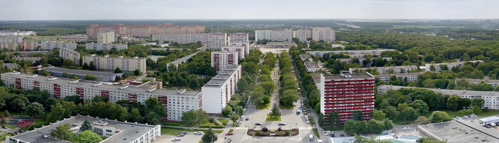 Первый микрорайон г.Московский