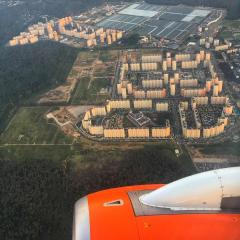 г.Московский с самолета