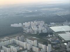 Первый Московский и  Град Московский с высоты