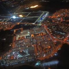Ночной город Московский