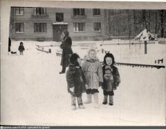 1963 год.Поселок Института Полиомиелита