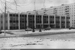 1980 год. Совхоз-комбинат Московский. 1 микрорайон дом 52.