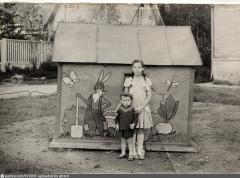 1963 год. Поселок Института Полиомиелита.