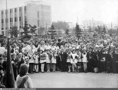 1 сентября 1980 года. Школа № 1