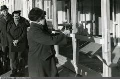 1 сентября 1979 года.Открытие школы № 2 в совхозе Московский